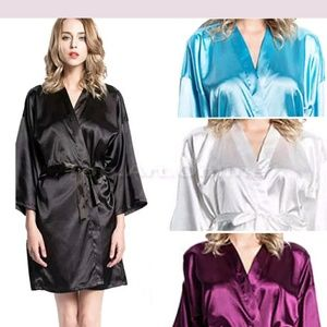 Other - Multicolored robes with chemise slip